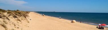 120 km de extensas playas